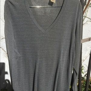 Silvery Grey long sleeve top